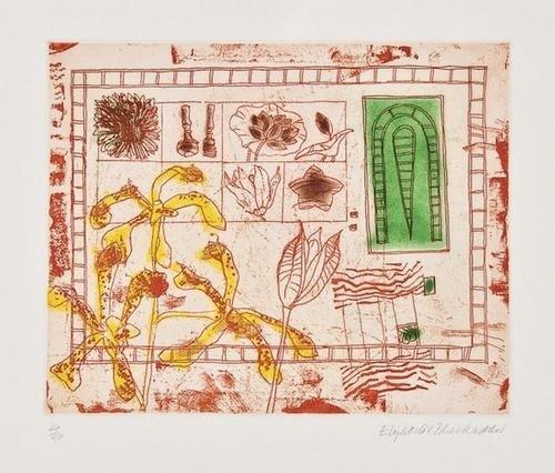 21: DDS Elizabeth Violet Blackadder (b.1931), Red Stil