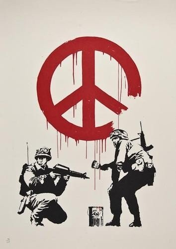 470: DDS Banksy (b.1975), CND Soldiers, lithograph prin
