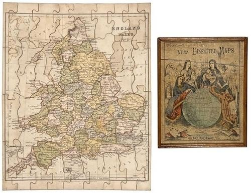19: BENG Gall & Inglis New Dissected Maps, England