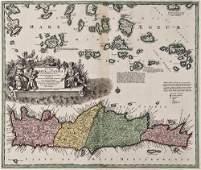 150: Homann (Heirs of) Insula Creta hodie Candia