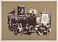 1: Banksy (b.1975) Morons 220