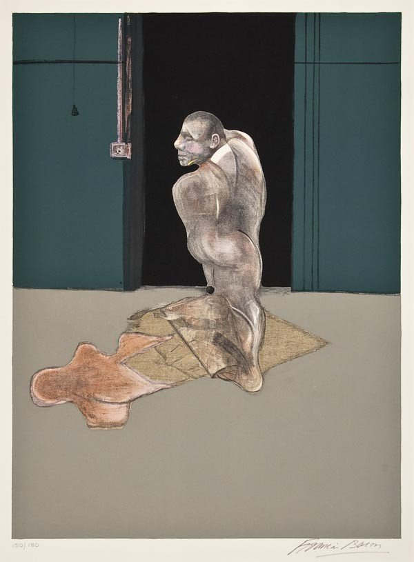 12: Francis Bacon (1909-1992) Study for a Portrait of