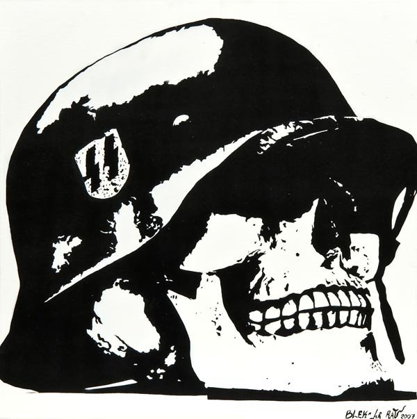 129: Blek Le Rat (b.1951) Skull