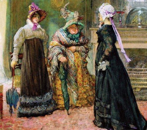 12B: Bundy (Edgar, ARA, RI 1862-1922) watercolour and