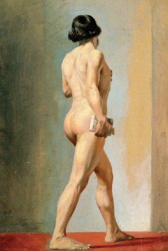16B: Burlison (Clement, 1815-1899) oil on paper, 420 x