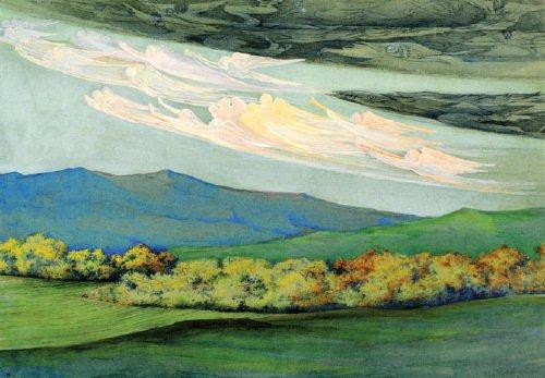 18B: Canziani (Estella, 1887-1964) watercolour and bod