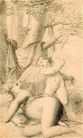 37B: Corbould (Henry, FSA 1787-1844) School of.  penci