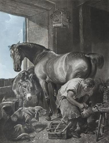 8: After Sir Edwin Landseer Shoeing the Mare