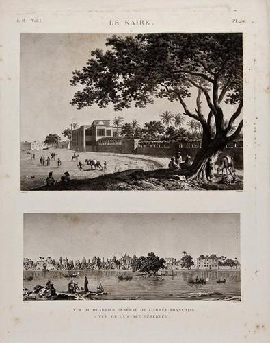 12: A group of views of upper and lower Egypt
