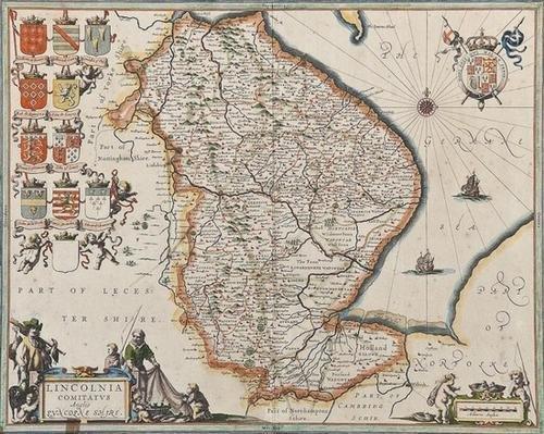20: Johan and Willem Blaeu Rutlandia Comitatus, Rutlan