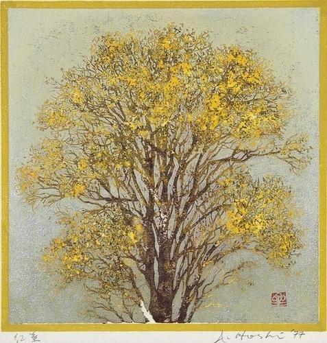 516: Joichi Hoshie Yellow tree
