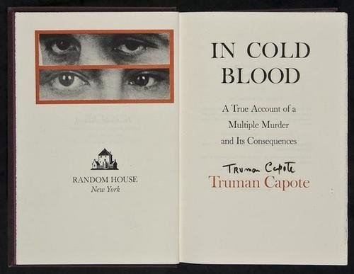 245: Capote (Truman) In Cold Blood