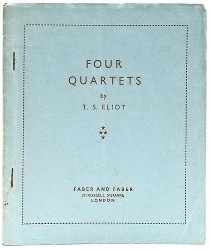 253: Eliot (T.S.) Four Quartets