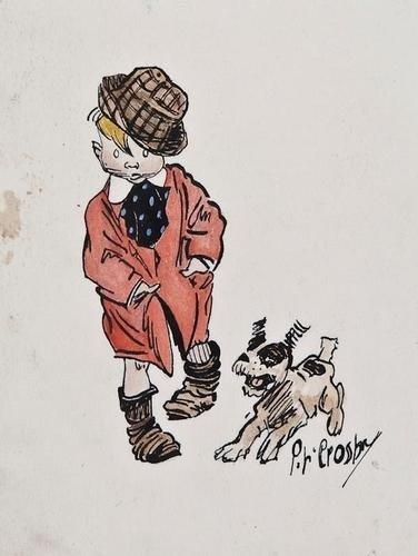 511: Crosby (Percy) Skippy' and dog