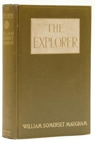 23: Maugham (William Somerset) The Explorer