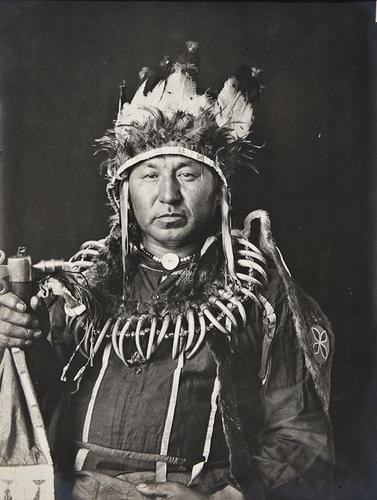 1: De Lancey W. Gill (1859-1940) Portrait of American