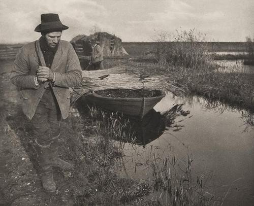 8: Peter Henry Emerson (1856-1936) Towing the Reed, 1