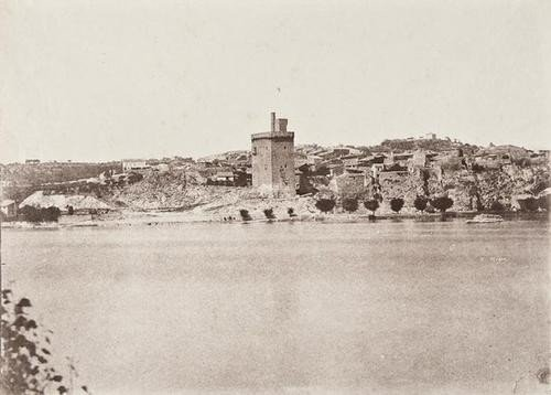 10: Charles Nègre (1820-1880) View of Villeneuve-les-A
