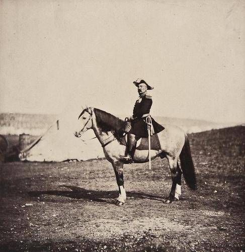 15: Roger Fenton (1819-1869) General Bosquet on his Ho