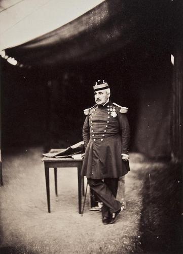 16: Gustave Le Gray (1820-1882) Marechal Pelissier, ca
