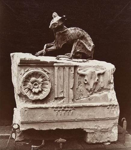 18: Charles Marville (1816-1879) Le Chat Momifié, ca.1