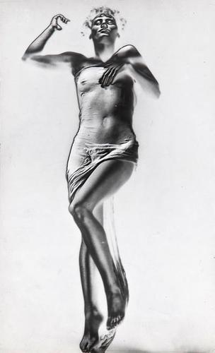 91: Erwin Blumenfeld (1897 - 1969) Veiled Beauty, ca.1