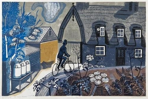 5: Edward Bawden (1903-1989) The Road to Thaxted