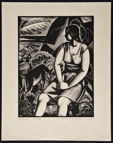 16: John Buckland-Wright (1897-1954) Le Chevriere (The