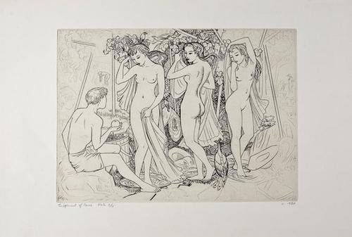 19: John Buckland-Wright (1897-1954) Judgement of Pari