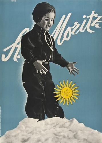 9: HERDEG, Walter(1908-1995) St. MORITZ photography a