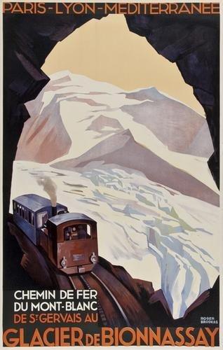18: BRODERS, Roger(1883-1953) GLACIER DE BIONNASSAY, P