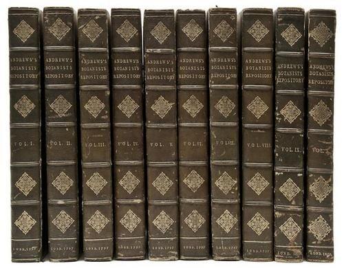 57: Andrews (Henry C.) The Botanist's Repository