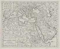 372  Tirion Isaak Carta Nuova del Dominio E Stato