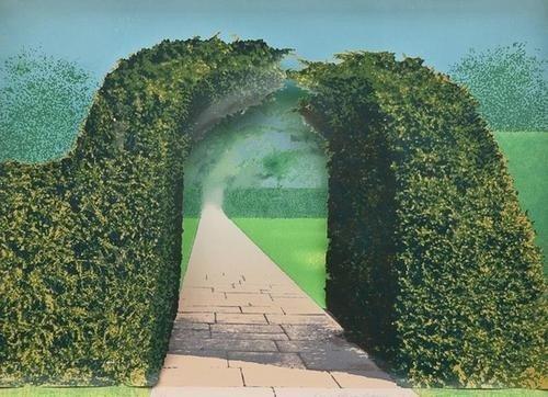 1: Ivor Abrahams (b.1935) Gardens Series
