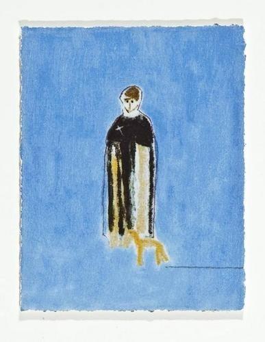 3: Craigie Aitchison (1926-2009) Priest and Dog