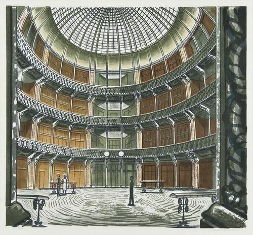 7: Edward Bawden (1903-1989) Interior