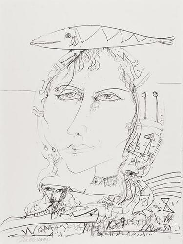 9: John Bellany (b. 1942) Untitled
