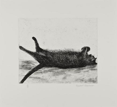 12: Dame Elizabeth Blackadder RA (b.1931) Amelia sleep