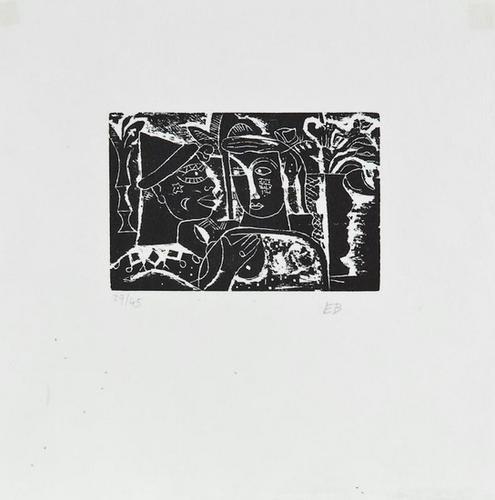 26: Edward Burra (1905-1976) Untitled