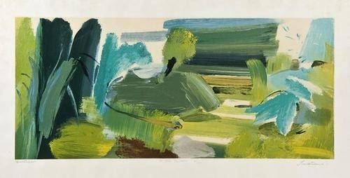 74: Ivon Hitchens (b.1893-1979) For John Constable
