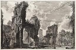 123: Giovanni Battista Piranesi. Veduta del Tempio di A