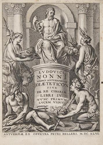 2: Nonnius (Ludovicus) Dioeteticon sive de re cibaria