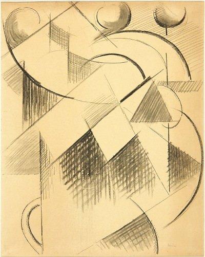 2A: Auguste Herbin (1882-1960) composition cubiste