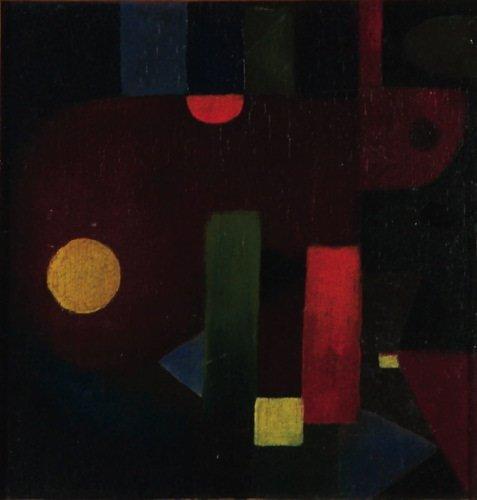 6A: Hans Reichel (1892-1958) abstrakte komposition (a
