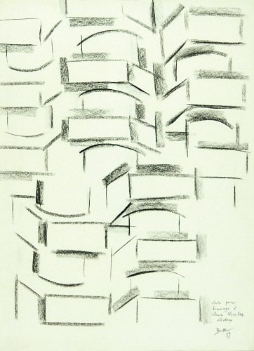 8A: Jacques Busse (b. 1922) étude pour hommage à clau