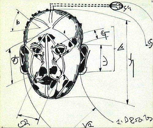 9A: Jean Robert Ipoustéguy (b. 1920) tête