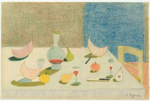 15A: Vera Pagara (twentieth century) still-life