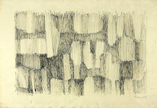 16A: Serge Rezvani (b. 1928) untitled