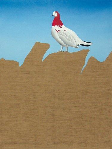 20A: Stefan Bergmann (twentieth century) white bird