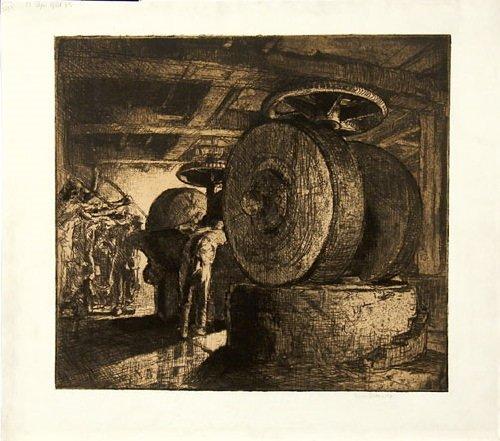 1B: Brangwyn (Frank) the paper mill no.1 (g.93)